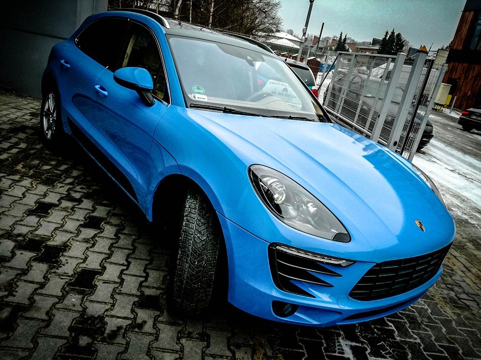 Porsche Macan Smoky Blue