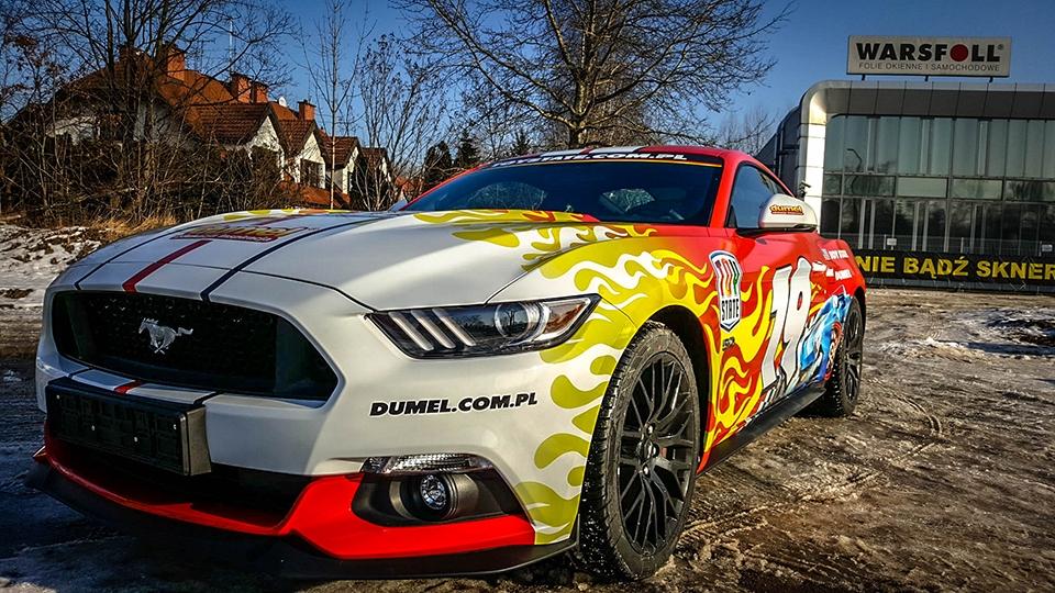 oklejanie samochodów grafiką
