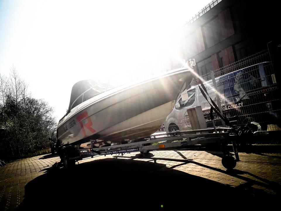 oklejanie łodzi warszawa - ranger