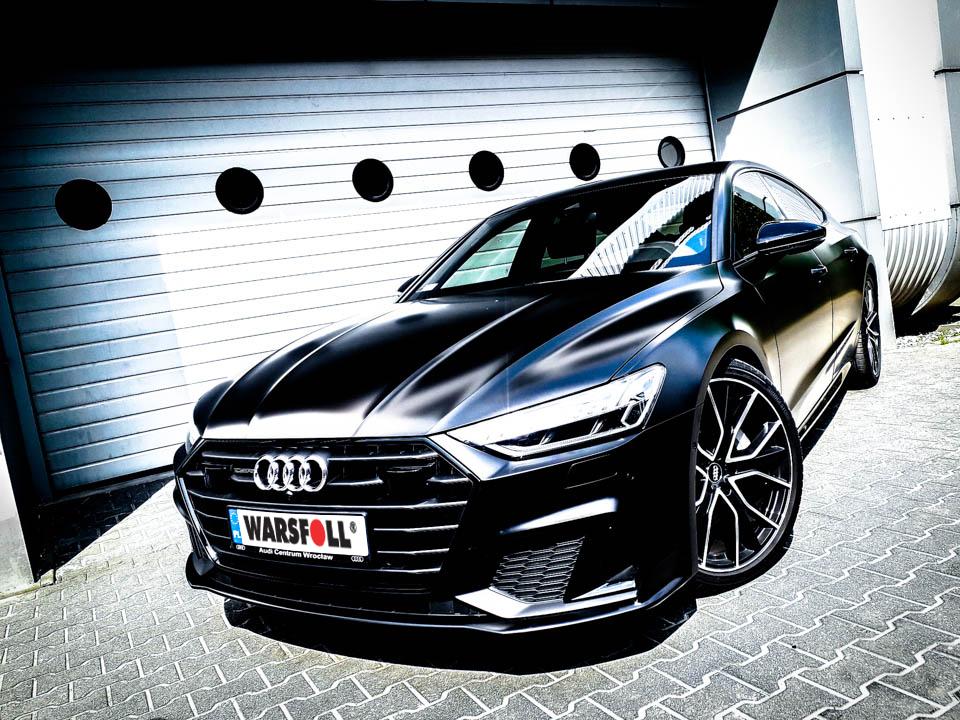 oklejanie auta na czarny mat