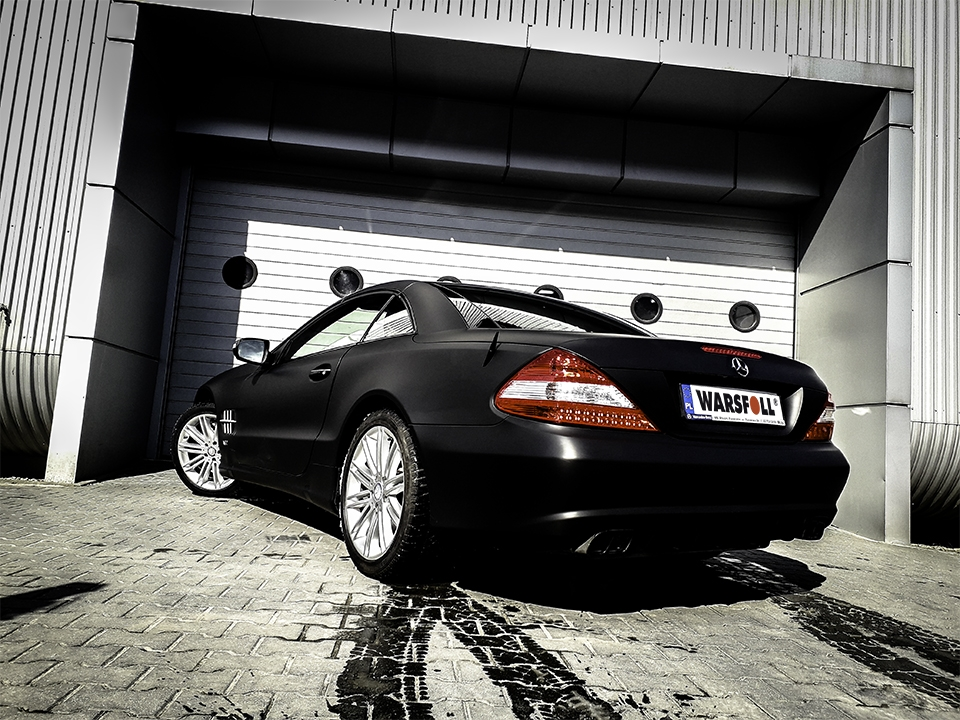 Mercedes SL matowy