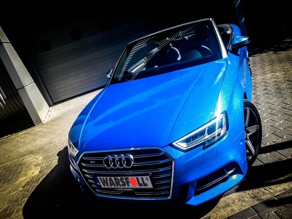 oklejanie samochodu Diamond Blue