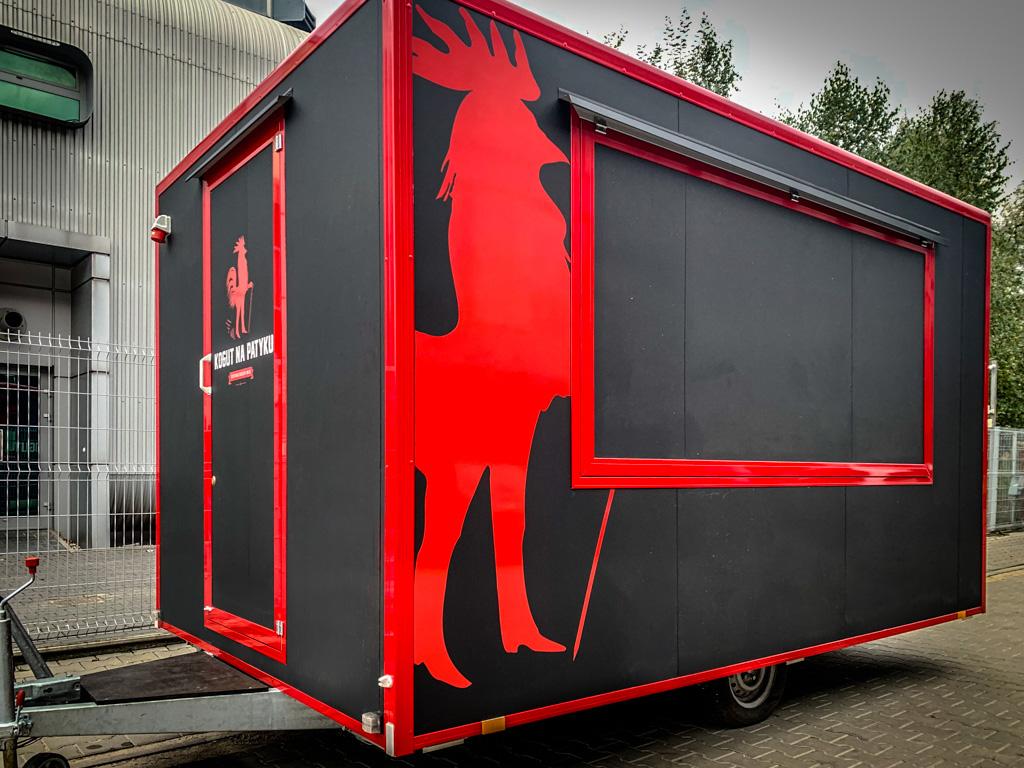 oklejanie food truck